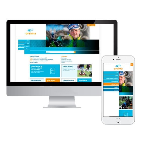 Responsice Website Orsima