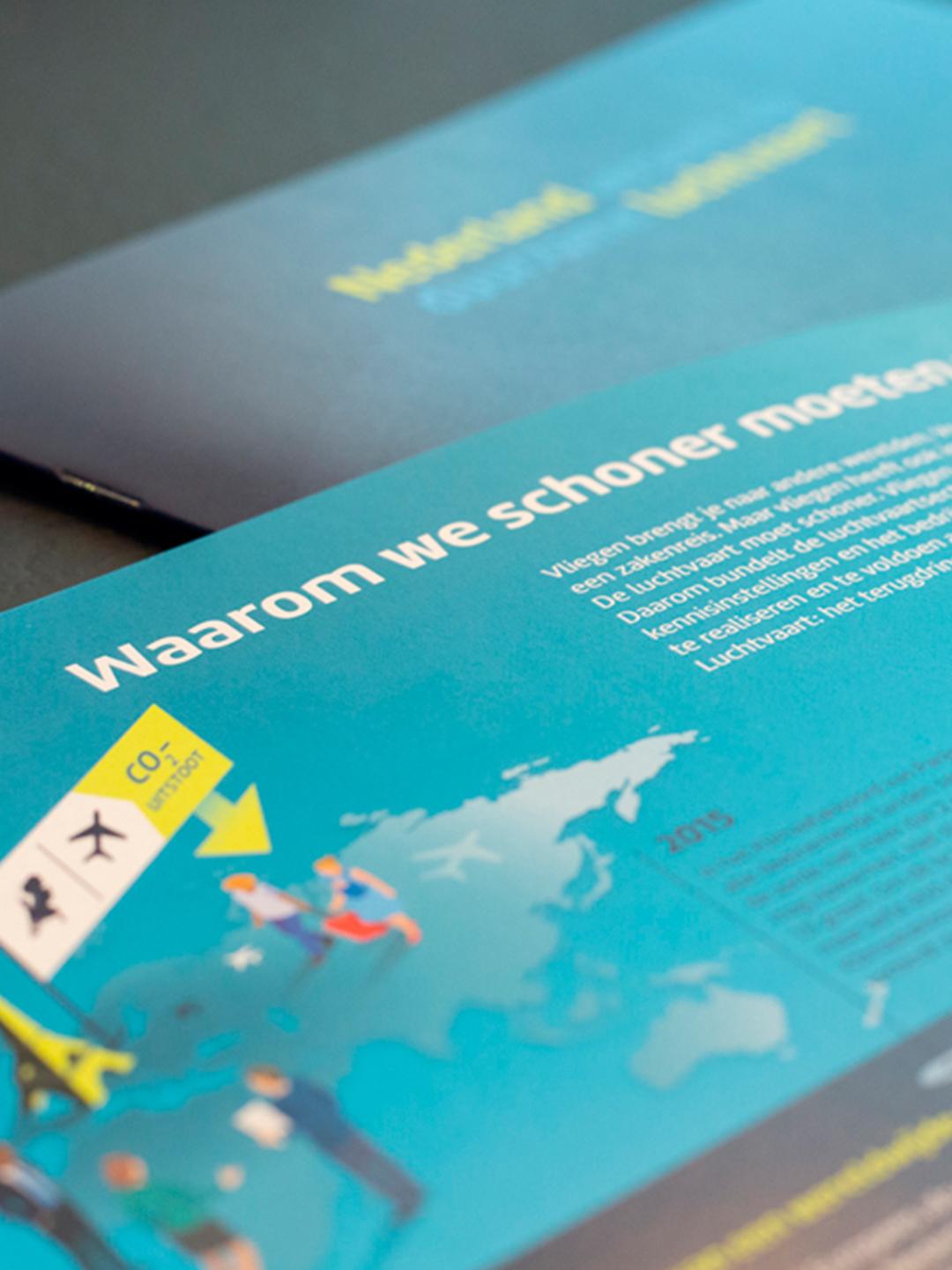 Brochure Nederland versnelt op duurzame luchtvaart